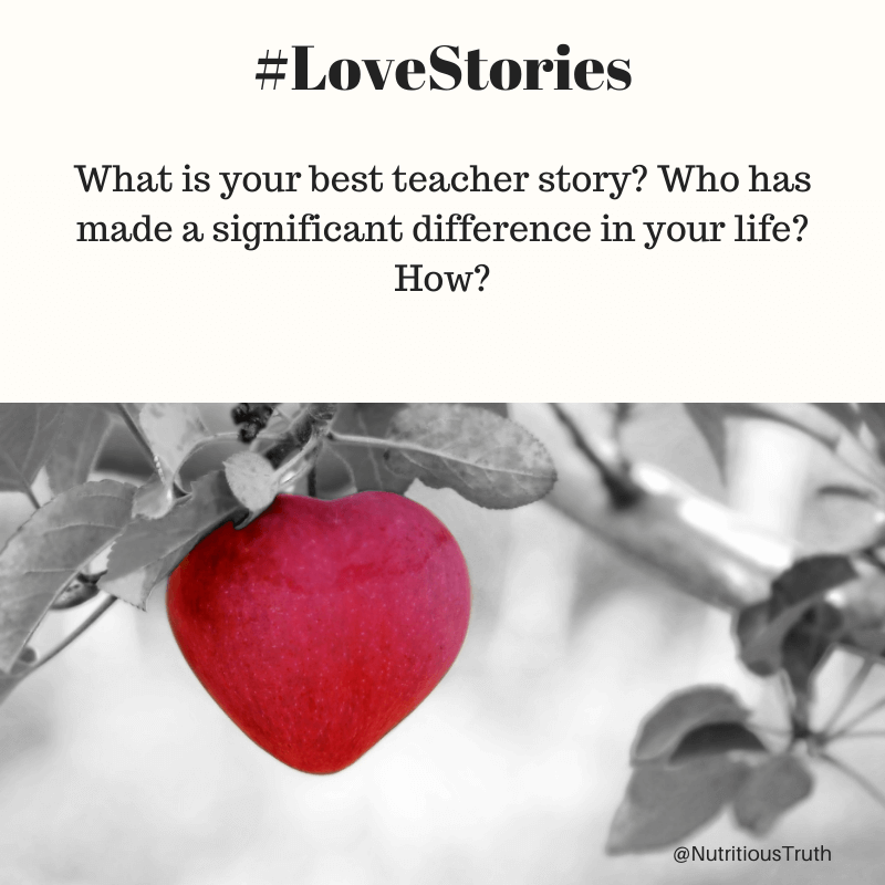 Love stories for teachers