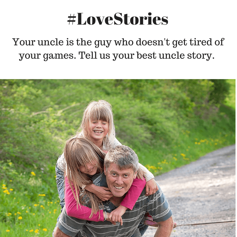 #lovestories for uncles