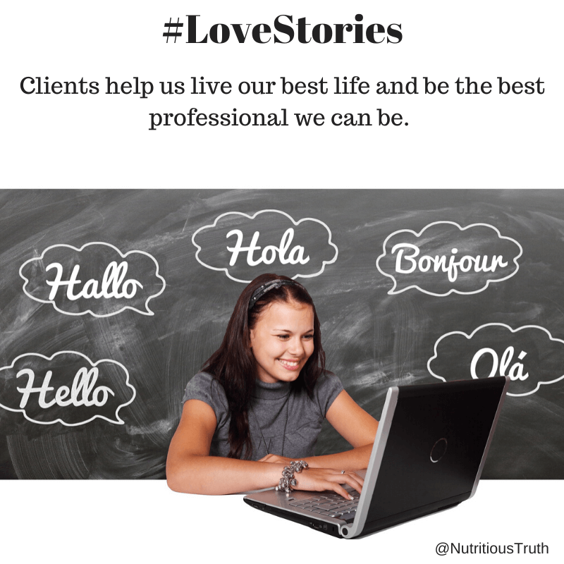 love stories about clients